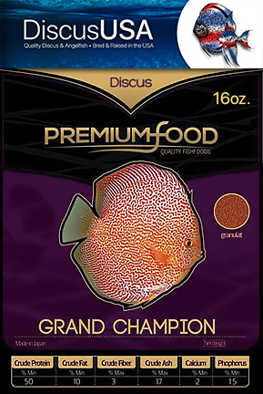 Grand Champion Discus Granules Bulk Pack 16 oz.